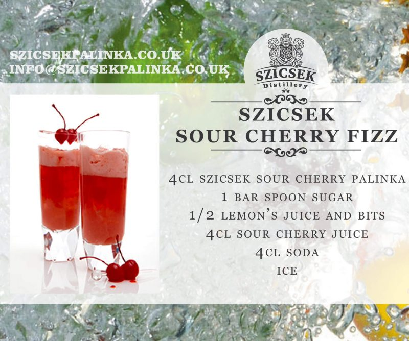 sour cherry fizz