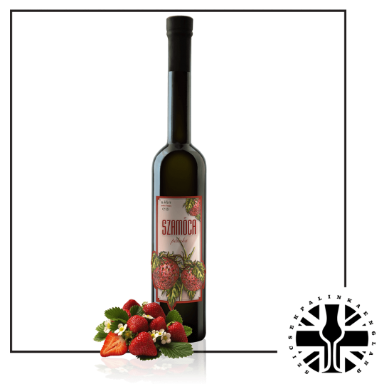 Premium Strawberry Palinka (44%ABV, 0.5L)