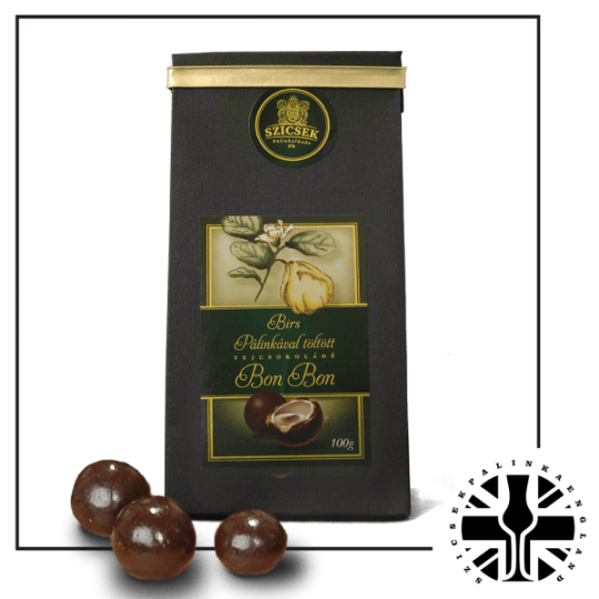 Quince Palinka Milk Chocolate Liquor 100 gr