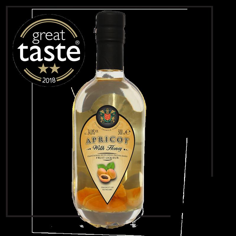 Apricot Palinka with Honey