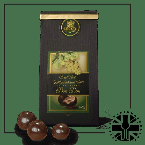 Grape Palinka Dark Chocolate Liquor 100 gr