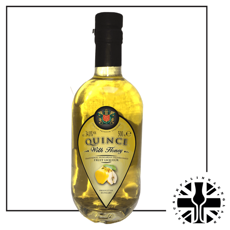 Quince Palinka with Honey (34%, 0.5L)